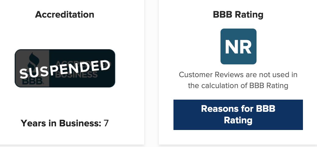 Resort Release Better Business Bureau Ratings